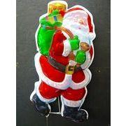 【値下げ!!】【SALE】 ホログラムLED サンタクロース
