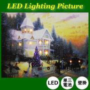 クリスマス LEDライティングピクチャー