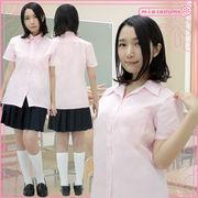 ■送料無料■半袖シャツ単品 色:ピンク サイズ:M/BIG