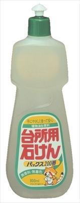 パックス200番 800ML 【 太陽油脂 】 【 食器用洗剤・自然派 】