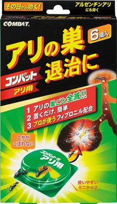 アリ用コンバットアルファ6P 【 大日本除虫菊(金鳥) 】 【 殺虫剤・アリ 】
