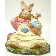 ウサギお母さんと赤ちゃん