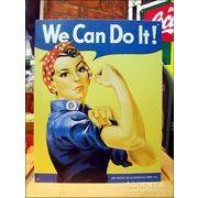 アメリカンブリキ看板 We Can Do It! -米軍兵募集看板-