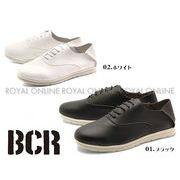 【BCR】 BC-715 フェイクレザー レースアップ シューズ 全2色 メンズ