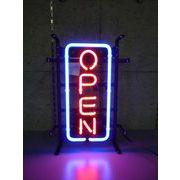 縦長オープン S  (ネオン管 看板 アメリカン雑貨 ・NEON SIGN・ネオンサイン)