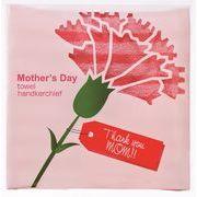 ●【季節イベント・母の日】感謝を込めて!季節のプレミアム●母の日 タオルハンカチ●