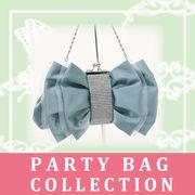 可愛いリボンの2Wayクラッチバッグ☆パーティーバッグコレクション