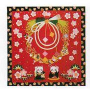 【ご紹介します!信頼の日本製!季節を彩る四季彩布! 小風呂敷】正月