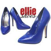 LA直輸入♪ellie shoes(エリーシューズ)ハイヒールパンプス/ピンヒール【マットブルー】
