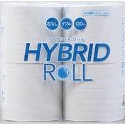 HYBRIDROLL130メートル4ロールダブル 【 丸富製紙 】 【 トイレットペーパー 】