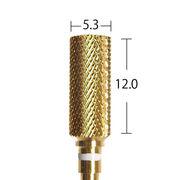 スモールバレルカーバイドバーミディアム ゴールド(C1714G)