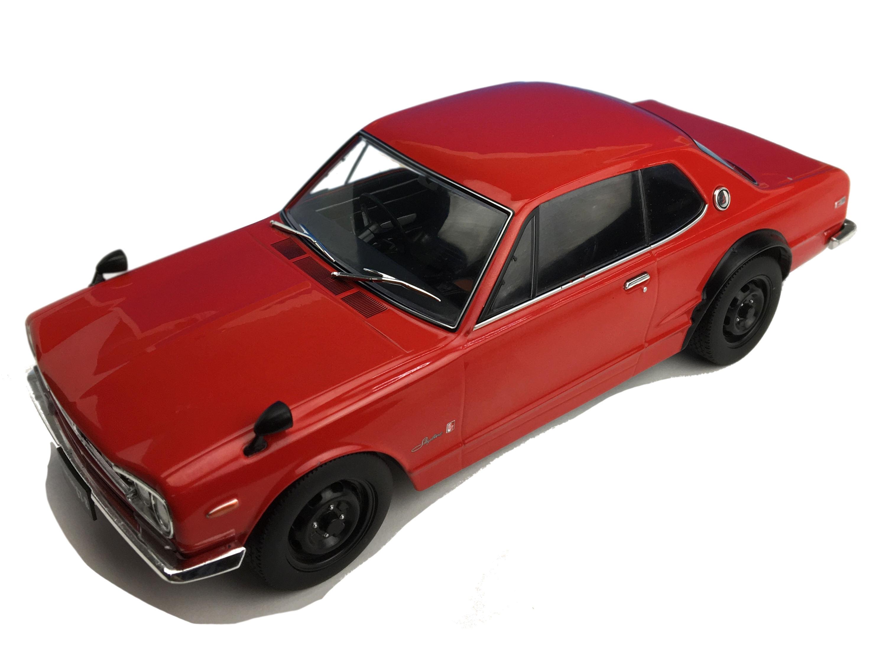 First18/ファースト18 日産 スカイライン GT-R (KPGC10) レッド