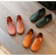 【子供靴】★可愛いデザインの子供靴&サンダル★柔軟な皮靴★女の子★3色★サイズ26-30