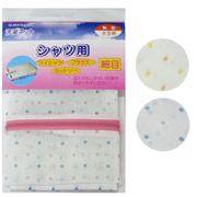 洗濯ネット角型 水玉柄(細目) 109-24