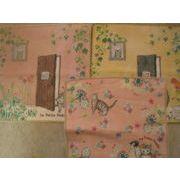 猫と花のミニタオル 日本製 2015秋コレクション