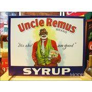アメリカンブリキ看板 Uncle Remus -SYRUP-