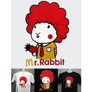 Mr.ラビット パロディTシャツ 【PT-0812】 メンズTシャツ / レディースTシャツ /キッズTシャツ