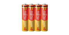 FUJITSU アルカリ乾電池 単4形 1.5V 4個パック /乾電池 バッテリー アルカリ  単4