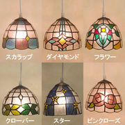 ステンド風★ ティファニーグラス ランプ♪