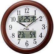 【新品取寄せ品】シチズン電波掛時計「インフォームナビEX」4FY620-006