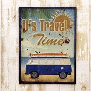 レクトエンボスプレート★It's Travel Time ★