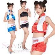 【セール】3color ミニスカ   レースクイーン コスプレ衣装【8099】