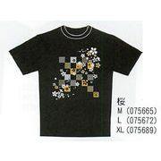 【ご紹介します!「日本」らしさをイメージしたTシャツ!お土産好適品! 日本Tシャツ】桜