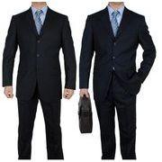 上品 かっこいいビジネス スリーピースメンズ ファッション パンツ+ジャケット+ネクタイ 3点セットアップ