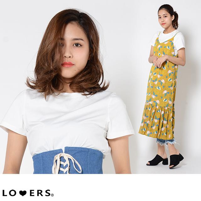 ベーシック白Tシャツ ma【即納】 トップス ストレッチ 薄手 白T 定番 レディース ベーシック