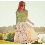NEW 夏の大人気アイテムシンプルスタイル カジュアル スカート 全5色 ishow-12-6088