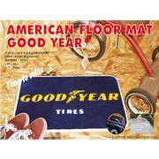 アメリカンな雰囲気をお部屋に、フロアマット GOOD YEAR 【3種類】