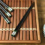 JAPANESE  STYLE  箸 小窓豆しぼり