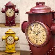レトロデイズクロック Hydrant 消火栓【置時計】