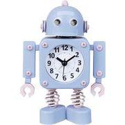 ヂャンティ商会 目覚まし時計 ロボットアラーム ブルー