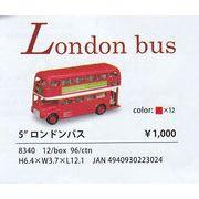 "Kinsmart/キンスマート社製 5""ロンドンバス"