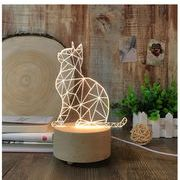 テーブルスタンド ランプ 個性定制プレゼント 猫