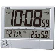 【新品取寄せ品】セイコークロック 電波置掛兼用時計SQ434S