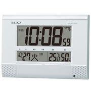 【新品取寄せ品】セイコークロック 電波置掛兼用時計SQ435W