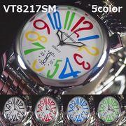 VITAROSOメンズ腕時計 メタルウォッチ 日本製ムーブメント トップリューズ&ビッグフェイス