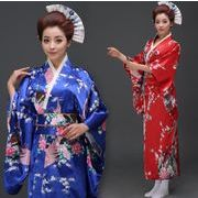 和服 女性 レディース 花火大会 花柄 選べる4色 S/M/L