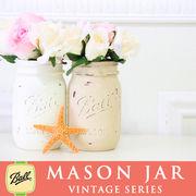 メイソンジャー Ball Mason jar ペイントビンテージシリーズ×1個
