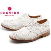 【グレンソン】 5067G アーチー ARCHIE TRIPLE WELT ウイングチップ シューズ 紳士靴 ホワイト メンズ