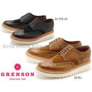 【グレンソン】 5067 アーチー V ARCHIE V ウイングチップ シューズ 紳士靴 全2色 メンズ
