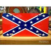 ライセンスプレート Dixie アメリカ南部連合国旗