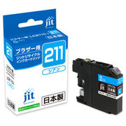 サンワサプライ リサイクルインクカートリッジLC211C対応 JIT-B211C