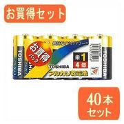 TOSHIBA TOSHIBA(東芝)単1アルカリ電池 4本パック LR20AG 4MPx