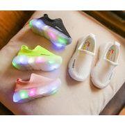 新品 シューズ 靴  子供靴 男/女童 光る 子供スニーカー