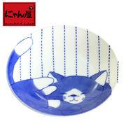 「にゃん屋」★黒猫くん小皿