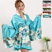 1021ペイズリー柄ミニ着物ドレス 和柄 衣装 ダンス よさこい 花魁 コスプレ キャバドレス