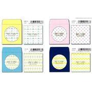 PINE BOOK(パイン・ブック)Square Mini Letter / スクエアミニレター【2017_7月発売】4種